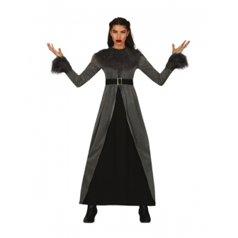 Disfraz maga medieval para mujer