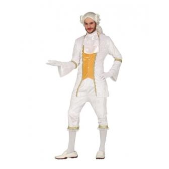 Disfraz Conde blanco para adulto