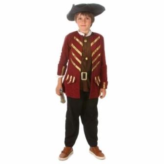Disfraz Pirata Bucanero William infantil