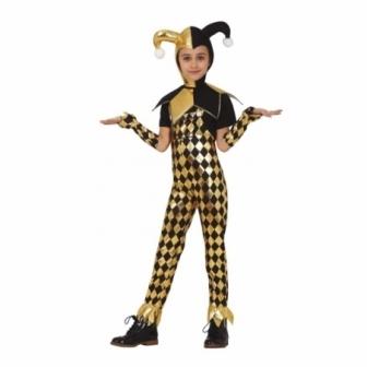 Disfraz Glitter clown infantil