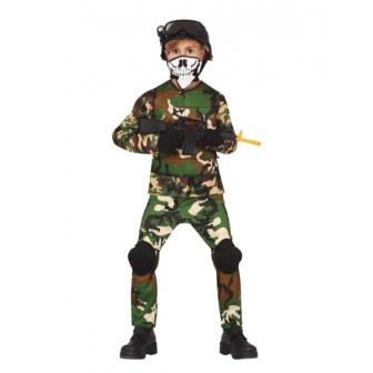 Disfraz de militar infantil y juvenil