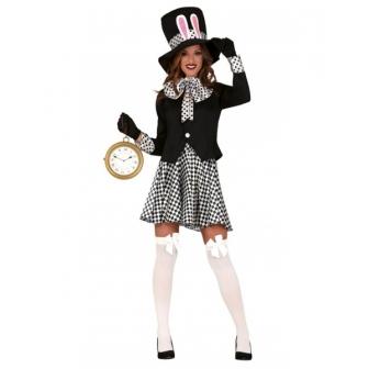Disfraz sombrerera loca para mujer