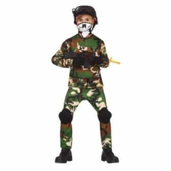 Disfraz de militar juvenil 14/16 años