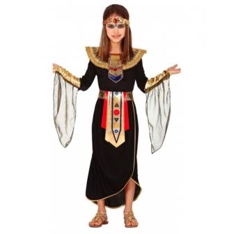 Disfraz Egipcia negra para niña