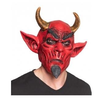 Máscara Diablo en látex