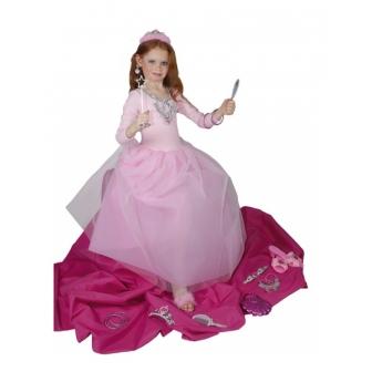Disfraz Princesa Azucena con joyas inf.