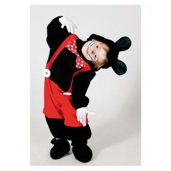 Disfraz Ratoncito negro infantil o bebés