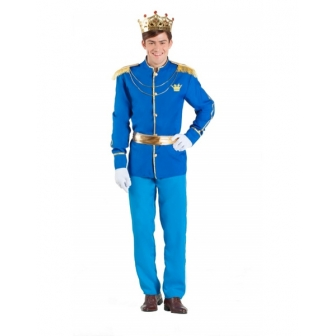 Disfraz Príncipe azul para hombre