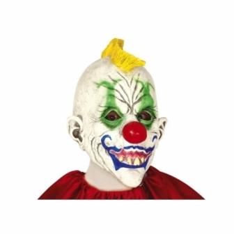 Máscara Payaso con  cresta látex