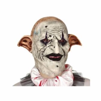 Máscara Arlequín terrorífico látex