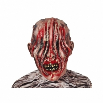 Máscara Zombie sin ojos látex