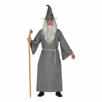 Disfraz Mago gris hombre