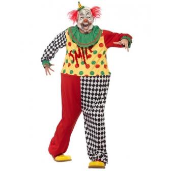 Disfraz  Payaso Siniestro con máscara