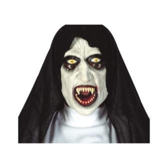 Máscara Monja siniestra látex