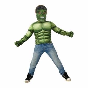 Pecho musculoso Hulk deluxe acc.infantil