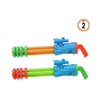 Pistola agua 12x54x7.5 cms.