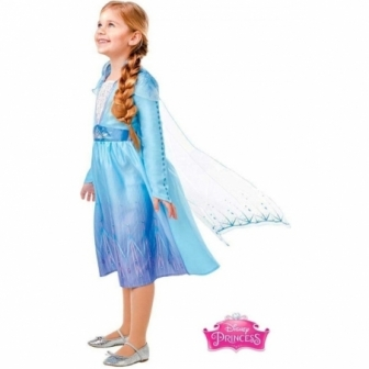 Disfraz Elsa Travel Frozen 2 classic INF