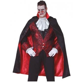 Capa Negra con forro rojo 115 Cms