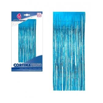 Cortina Flecos decorativa colores 2x1M