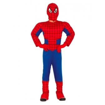 Disfraz Spider Héroe Musculoso para niño