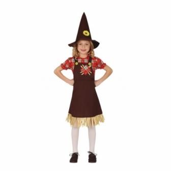 Disfraz Espantapájaros para niña