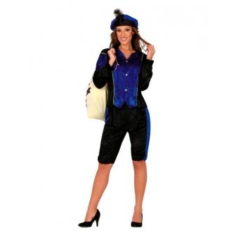Traje de  Paje  Azul para mujer