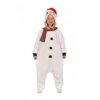 Disfraz muñeco nieve pijama infantil
