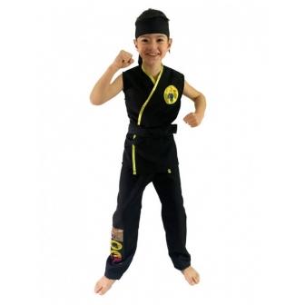 Disfraz  Karateka negro...