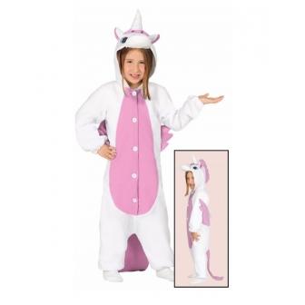 Disfraz Pijama Unicornio Rosa Infantil