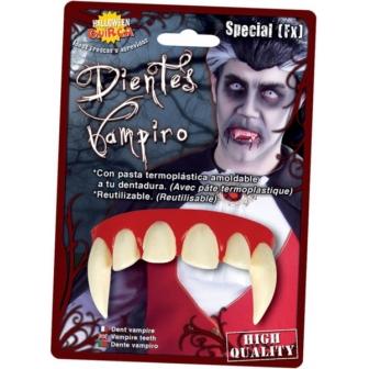 Dientes Vampiro Con Pasta Termoplástica