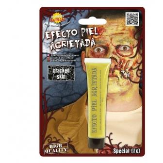 Maquillaje Piel Agrietada Zombie