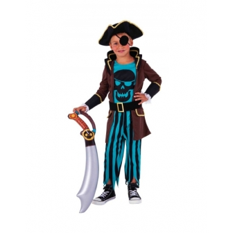 Disfraz Pirata de la isla del tesoro INF