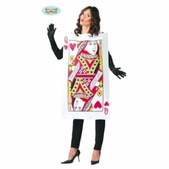 Disfraz Dama De Cartas Mujer