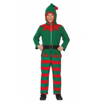 Disfraz Elfo pijama infantil