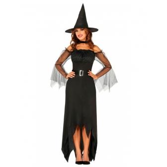 Disfraz Bruja elegante para mujer