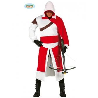 Disfraz Mercenario Templario adulto