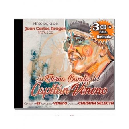 3 CD Eterna banda Capitán Veneno 2020