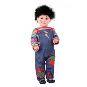 Disfraz Muñeco sangriento bebé