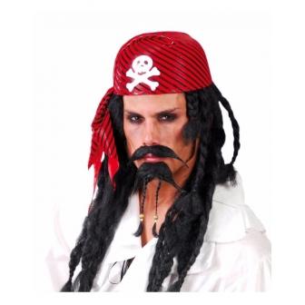 Gorro Pirata rojo