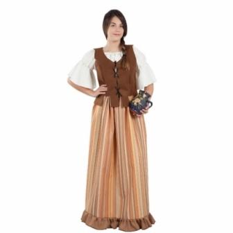 Disfraz mesonera medieval mujer