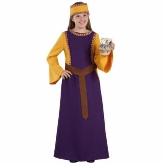 Disfraz Doña Jimena medieval para niña