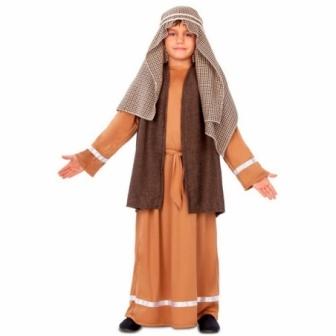 Disfraz Hebreo marrón para niño
