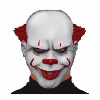 Máscara Payaso asesino pvc