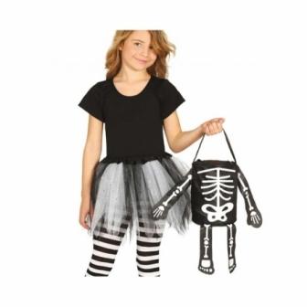 Cesta esqueleto 20 cms.