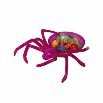 Plato araña lila