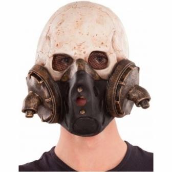 Máscara Esqueleto antigás látex