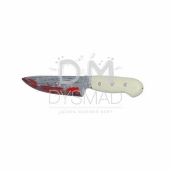 Cuchillo decoración realista pvc