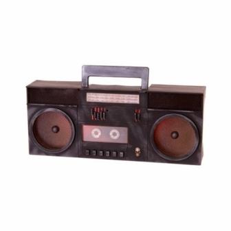 Radiocassette Fantasma con luz 40x16x7cm