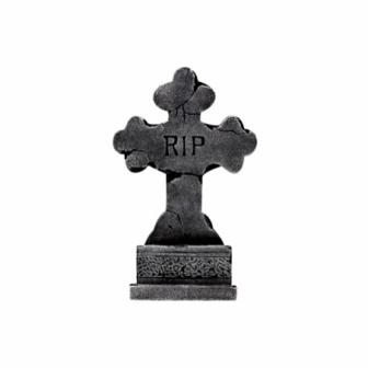 Lápida RIP 60x36cm