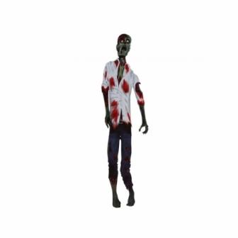 Decoración zombie 150 cms.